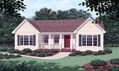 Plan Number 45316 - 1102 Square Feet