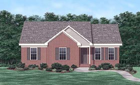 Traditional House Plan 45334 Elevation