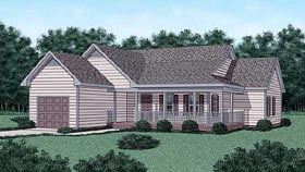 Country House Plan 45335 Elevation
