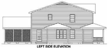 Country House Plan 45376 with 4 Beds, 4 Baths, 2 Car Garage Picture 2
