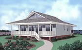 Plan Number 45402 - 1179 Square Feet