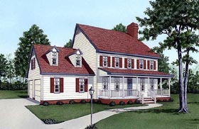 Plan Number 45406 - 1934 Square Feet