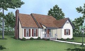 Cape Cod House Plan 45433 Elevation