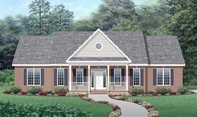 Traditional House Plan 45447 Elevation