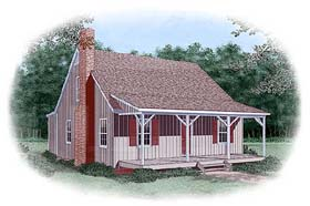 Country House Plan 45461 Elevation