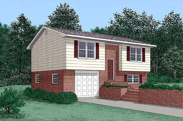 Traditional House Plan 45464 Elevation