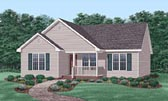 Plan Number 45503 - 1208 Square Feet
