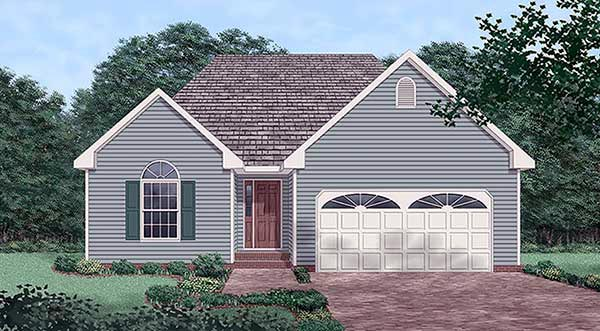 Traditional House Plan 45506 Elevation