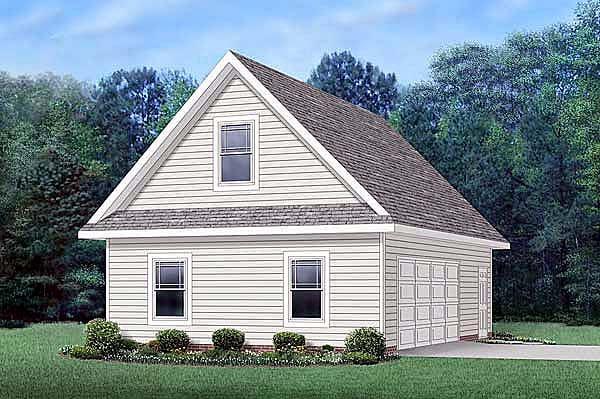 Garage Plan 45512