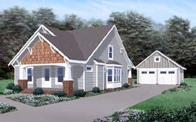 Traditional House Plan 45520 Elevation