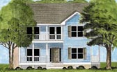 Plan Number 45630 - 1597 Square Feet