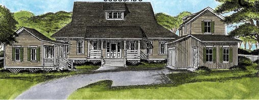 Country European House Plan 45663 Elevation