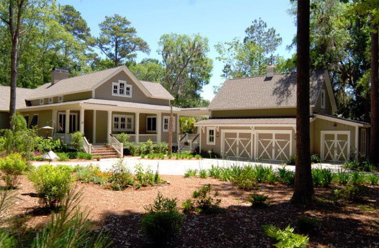Country Southern House Plan 45666