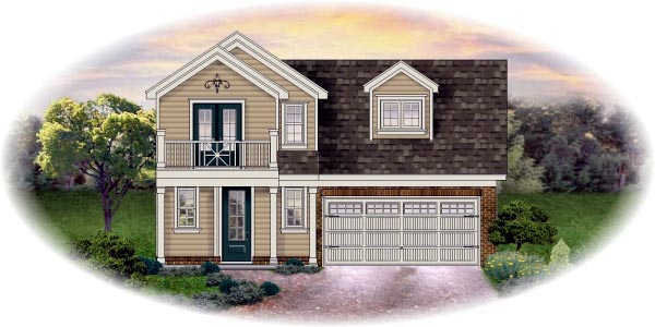 Traditional House Plan 45701 Elevation