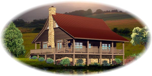 Traditional House Plan 45702 Elevation
