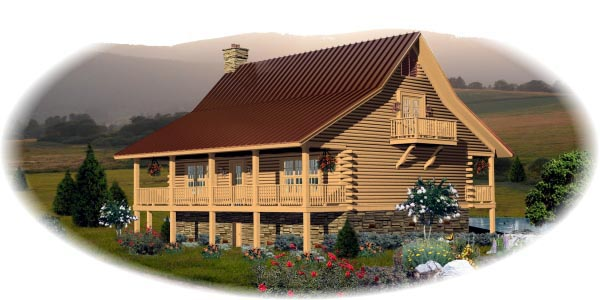 Traditional House Plan 45704 Elevation