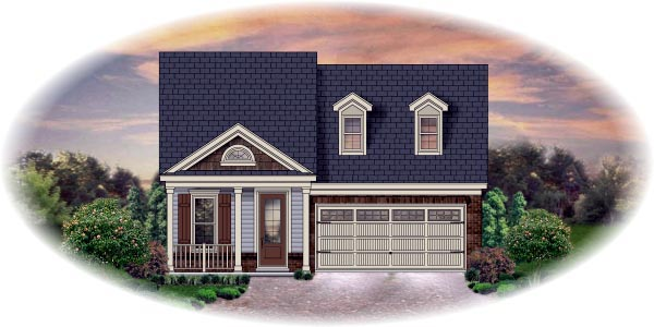 Traditional House Plan 45707 Elevation