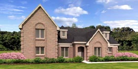 Contemporary House Plan 45716 Elevation
