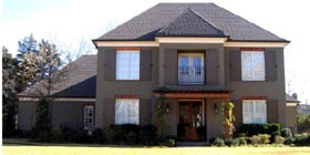 House Plan 45726 | European Style Plan with 4370 Sq Ft, 3 Bedrooms, 4 Bathrooms, 3 Car Garage Elevation