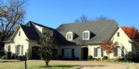 European , Country House Plan 45735 with 4 Beds, 4 Baths, 3 Car Garage Elevation