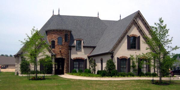 Country European House Plan 45743 Elevation