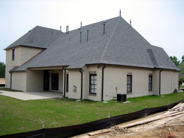 Country European House Plan 45744