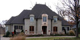 European House Plan 45746 Elevation
