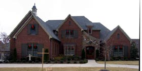 Country European House Plan 45748 Elevation