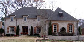 Country European House Plan 45755 Elevation