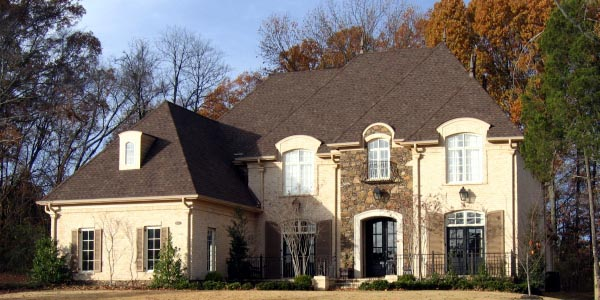 House Plan 45760 | European Style Plan with 4942 Sq Ft, 4 Bedrooms, 5 Bathrooms, 3 Car Garage Elevation