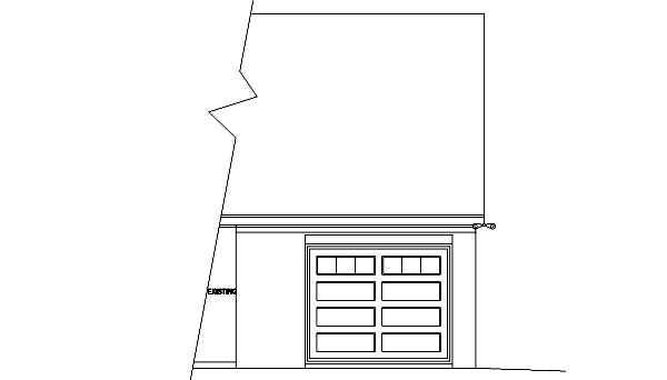 Garage Plan 45768 Elevation