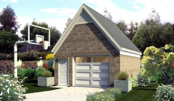 Garage Plan 45773 Elevation