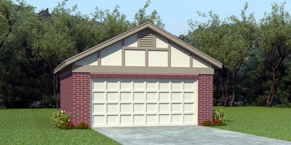 European Traditional Garage Plan 45775 Elevation