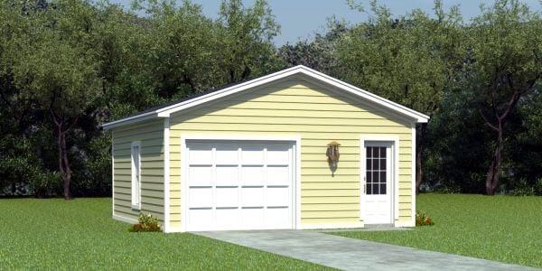 Garage Plan 45778