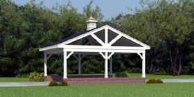 Garage Plan 45779 | Style Plan, 2 Car Garage Elevation