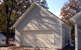 Garage Plan 45784 | Traditional Style Plan, 2 Car Garage Elevation