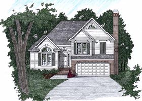 Plan Number 45813 - 1617 Square Feet