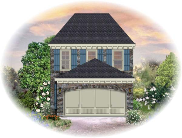 House Plan 46300 Elevation