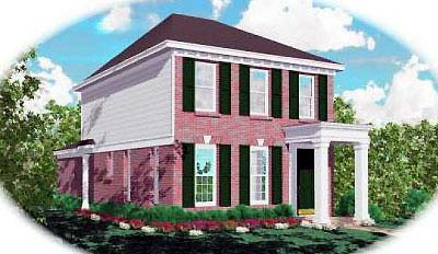 Traditional House Plan 46301 Elevation