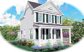 Traditional House Plan 46303 Elevation