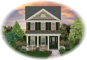 House Plan 46304 Elevation