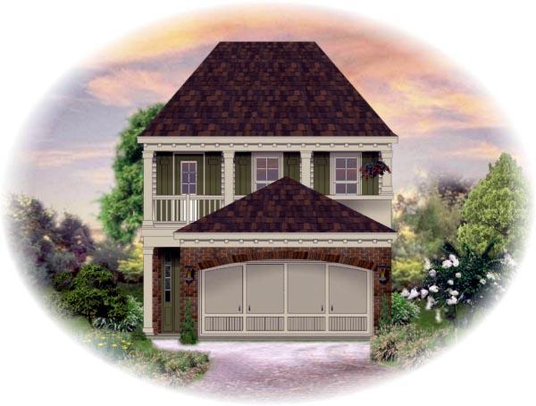 House Plan 46321 Elevation