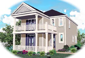 Ranch House Plan 46329 Elevation