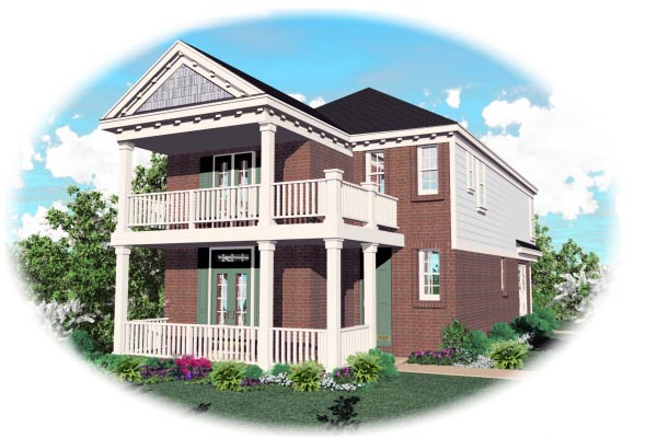 Southern House Plan 46332 Elevation