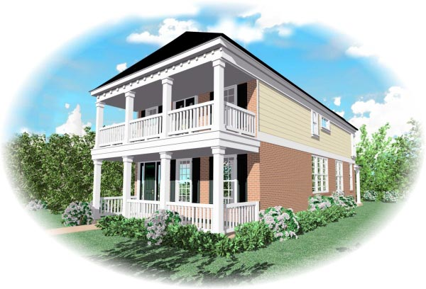 Southern House Plan 46341 Elevation
