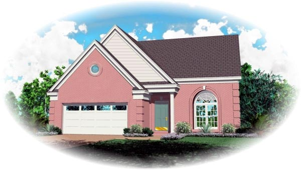 Traditional House Plan 46344 Elevation