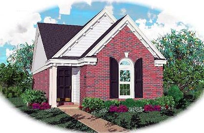 Ranch House Plan 46354 Elevation