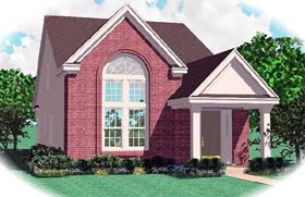 Ranch House Plan 46356 Elevation
