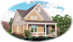 Craftsman House Plan 46362 Elevation