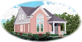 Traditional House Plan 46363 Elevation